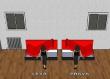 Čalouněná postel ERIKA s bočním čelelem - výběr rozměrů a potahů