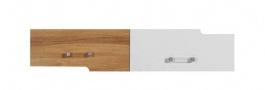 Závěsná skříňka Anabel 14 - jilm/bílá lux