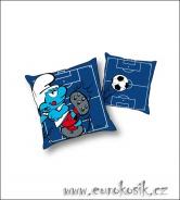 Dětský polštářek Šmoula modrý