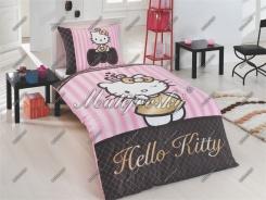Dětské povlečení Hello Kitty Gold