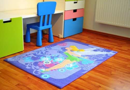 Dětský koberec Fairies -  Tink Tropical