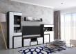 Moderní obývací stěna MARSEL - bílá