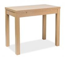 Jídelní stůl rozkládací KACPER 50x90cm - dub