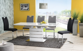 Jídelní stůl LEONARDO rozkládací - bílý