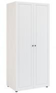 Šatní skříň PRAGA KIDS WK-722 - jasan / bílá