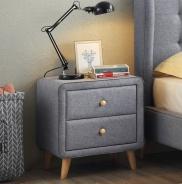 Noční stolek LORIEN - šedý