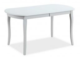 Jídelní stůl rozkládací 140x80 ALICANTE - bílý