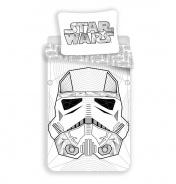 Dětské povlečení Star Wars White