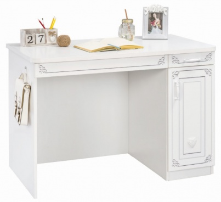 Studentský psací stůl Betty - bílá