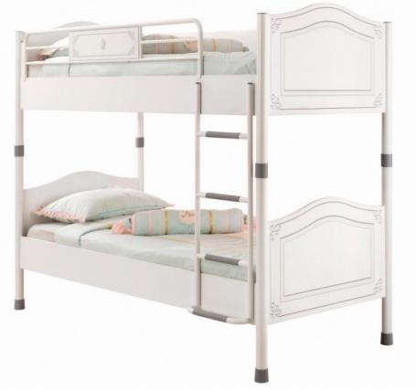 Dětská patrová postel Betty 90x200cm - bílá