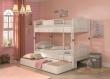 Dětská patrová postel Betty 90x200cm + zásuvka pod postel Betty