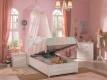 Dětská postel Betty 100x200cm s úložným prostorem