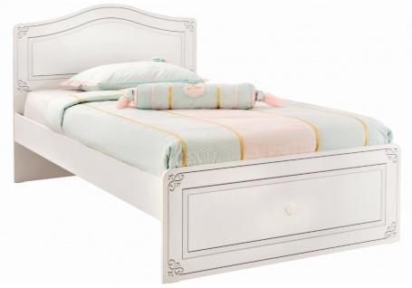 Studentská postel Betty 120x200cm - bílá