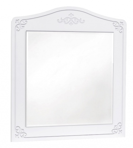 Zrcadlo ke komodě Betty - bílá