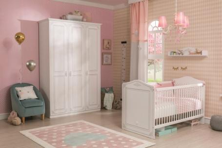 Dětský pokoj pro miminko Betty - bílá