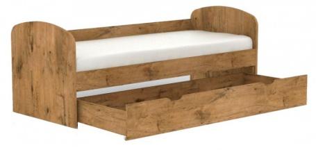 Dětská postel s šuplíkem REA Kakuna 80x200cm - dub lancelot