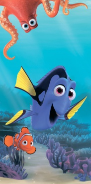 Dětská osuška Dory - Hledá se Nemo