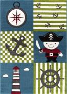 Dětský kusový koberec Pirát 450 multi