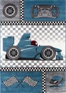 Dětský kusový koberec Formule 460 Blue