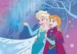 Dětský koberec Frozen - Anna a Elsa