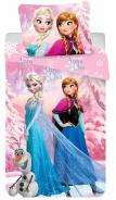 Dětské povlečení Frozen růžový 2016