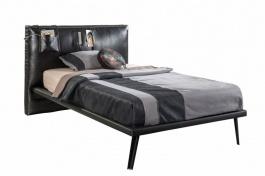 Studentská postel Nebula I 120x200cm - černá