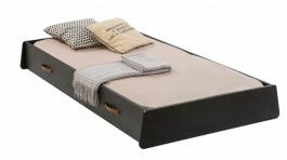 Zásuvka pod postel 90x190cm Nebula - černá/šedá