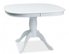 Jídelní stůl FLORENCJA rozkládací - bílý