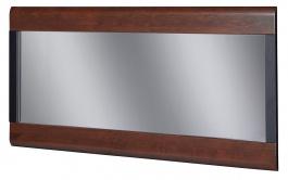 Zrcadlo VIEVIEN 80 - dub koňak / černý mat