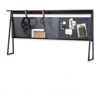Nástavec nad malý psací stůl Nebula - černá