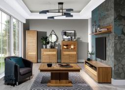 Obývací sestava Sandy - dub granson