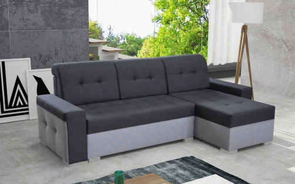 Rozkládací rohová sedačka LAGOS Soro 100/90