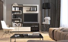 Kompaktní obývací stěna INTERO