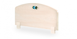 Zábrana na dětskou postel Lilian - bříza