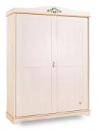 Šatní skříň Lilian s posuvnými dveřmi - bříza