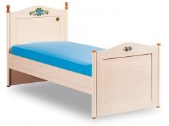 Studentská postel Lilian 120x200cm - bříza