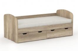 Dětská postel REA Golem se 2 šuplíky – dub canyon