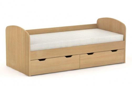 Dětská postel REA Golem se 2 šuplíky – buk