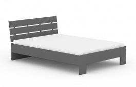 Moderní postel REA Nasťa 140x200cm - graphite