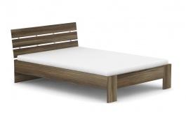 Moderní postel REA Nasťa 140x200cm - ořech