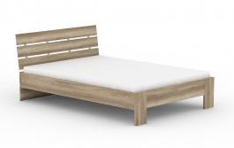 Moderní postel REA Nasťa 140x200cm - dub canyon