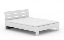 Manželská postel REA Nasťa 160x200cm - bílá