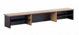 Nástavec na velký psací stůl Sirius - dub černý/dub zlatý