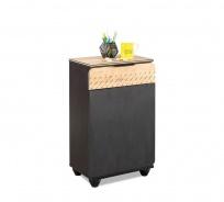 Odkládací stolek Sirius - dub černý/dub zlatý