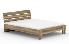 Manželská postel REA Nasťa 160x200cm - dub canyon