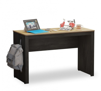 Jednoduchý psací stůl Sirius - dub černý/dub zlatý