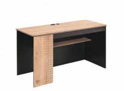 Velký psací stůl Sirius - dub černý/dub zlatý