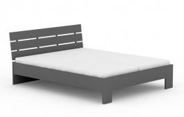 Manželská postel REA Nasťa 160x200cm - graphite