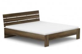 Manželská postel REA Nasťa 180x200cm - ořech