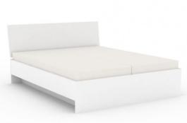 Manželská postel REA Oxana 180x200cm - bílá